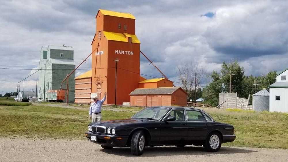 NANTON Alberta Prairie Grain Elevators