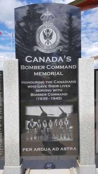 NANTON Bomber Command Memorial