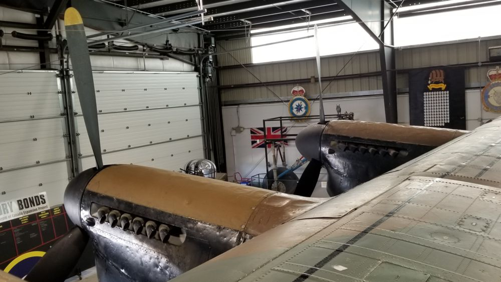 NANTON Lancaster View from Inside