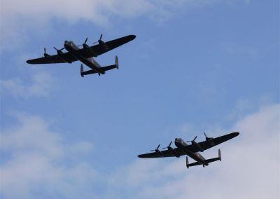 Lancaster Bombers Flypast