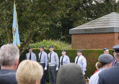 166 Squadron Memorial Service