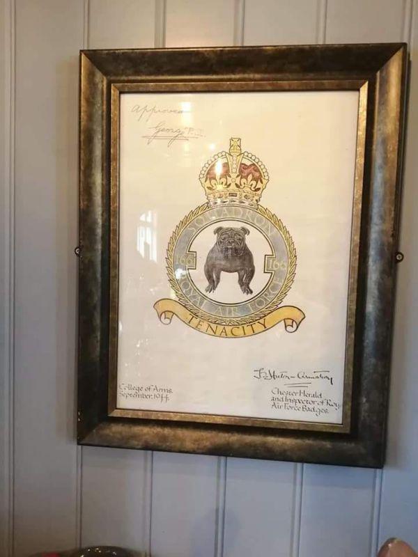 166 Squadron insignia