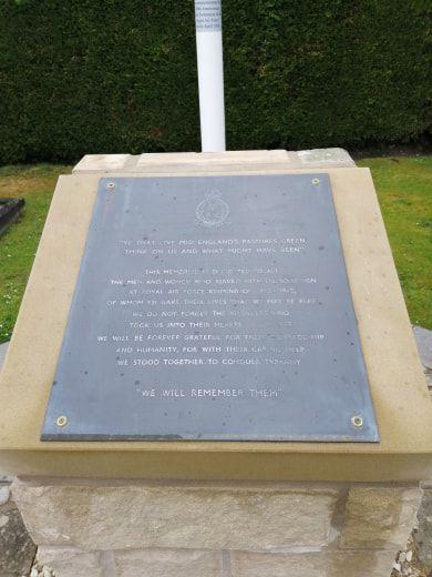 166 Squadron Memorial