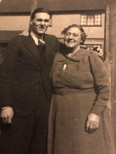 Tommy and his mother