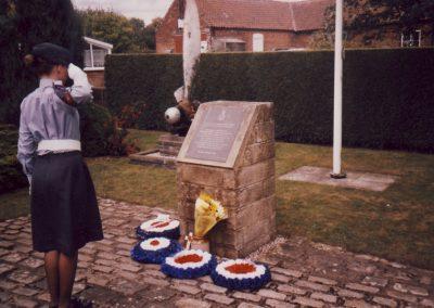 Annual 166 Squadron Memorial Service