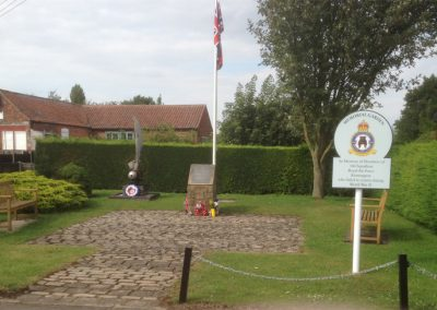 166 Squadron Memorial Garden
